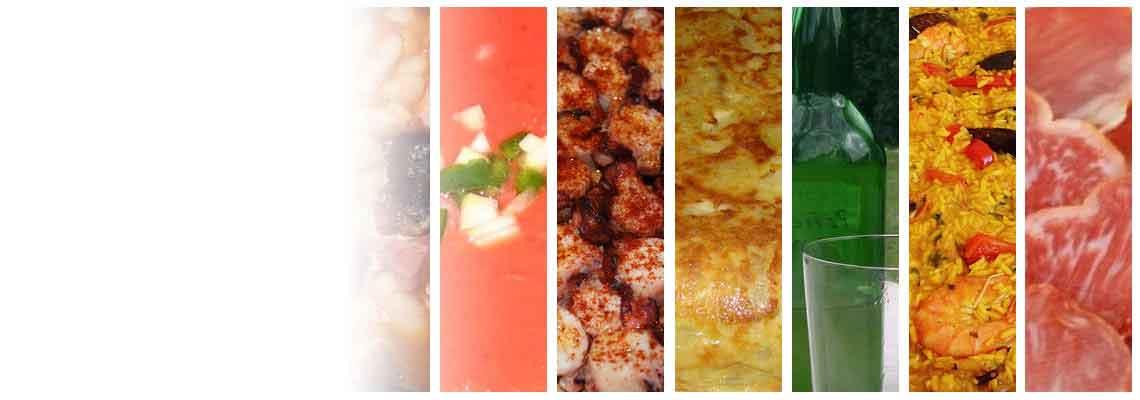 A mnoho ďalších produktov zo Španielska gastronómia