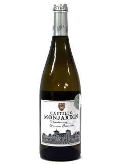 Biele víno Castillo Monjardín Chardonnay Fermentado en Barrica