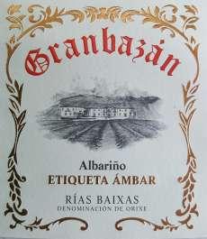 Biele víno Granbazan Etiqueta Ambar