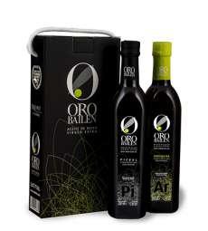 Extra panenský olivový olej Oro Bailen.Estuche 2 botellas 750 ml.