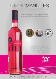 Ružové víno Dominio de Manciles, Rosado
