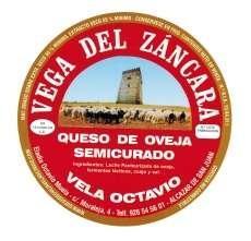 Semicured syr Vega del Záncara